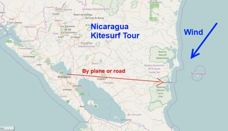 Kitesurf Tour Nicaragua