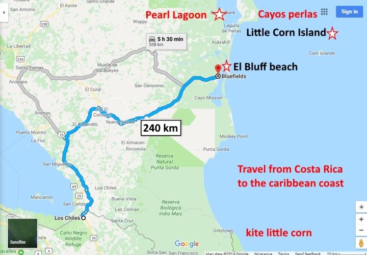 travel to corn island